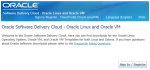 Oracle Software Delivery Cloud - Oracle Linux and Oracle VM