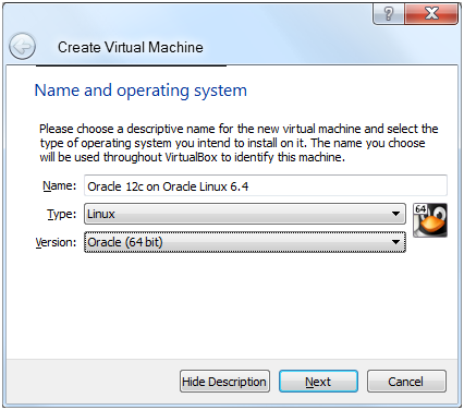Oracle Database 12c on Oracle Linux 6 – Step 3: Configure an