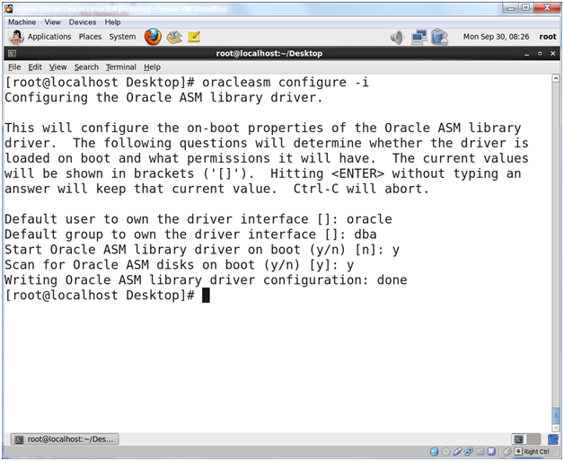 Oracle Database 12c on Oracle Linux 6 – Step 16: Configure