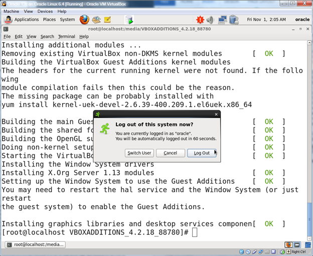 Oracle Database 12c on Oracle Linux 6 – Step 30: Install the