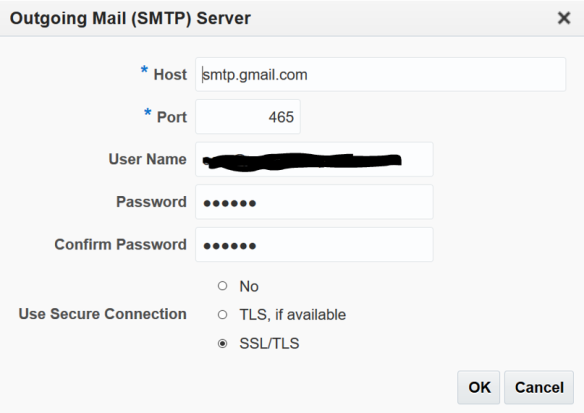 Configure OEM with a gmail mail server | Cars and Code