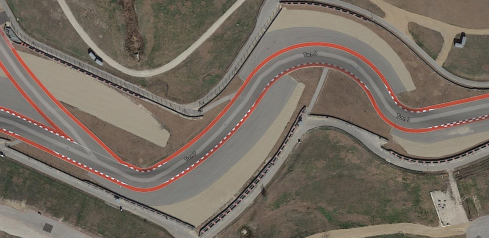 CotA Track Map - Turn 7-8-9